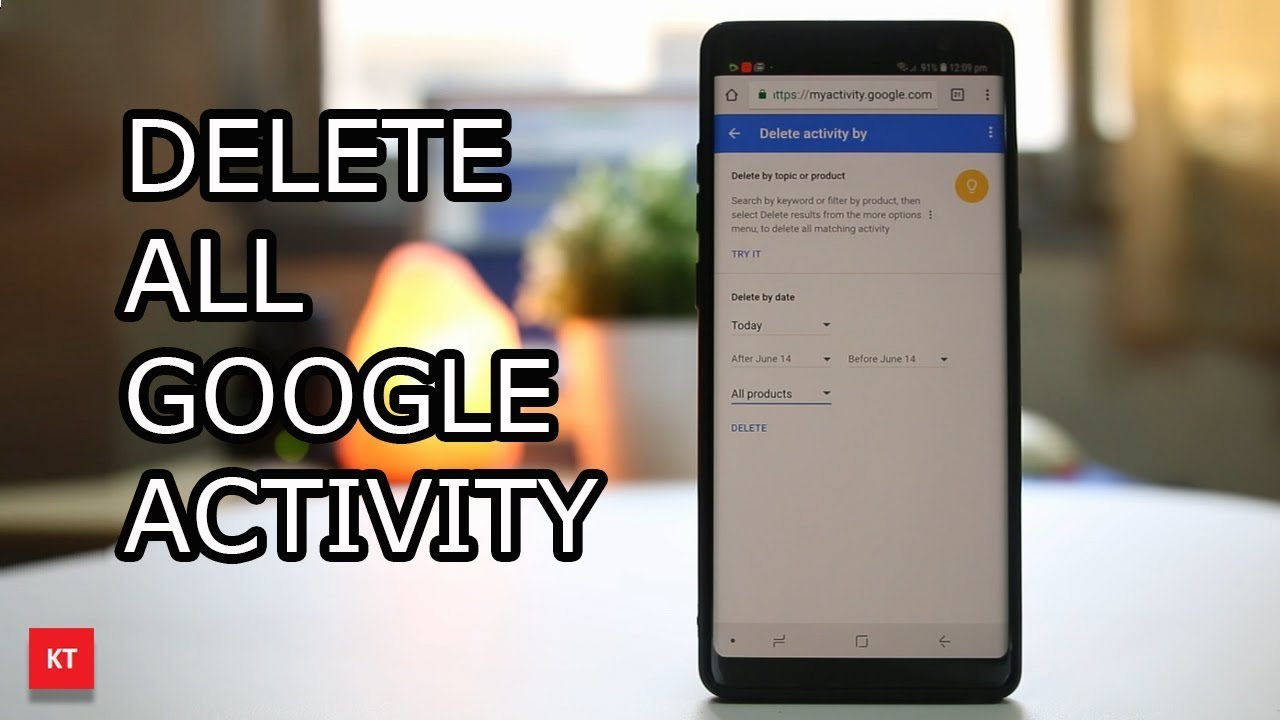 How to Remove Activity History of Your Google Account on Android