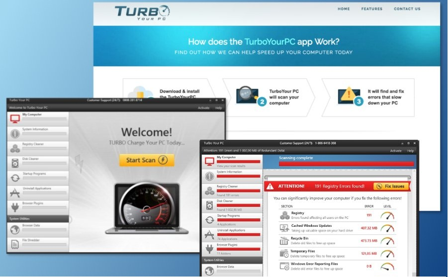 Delete Turbo Your PC Virus from the System