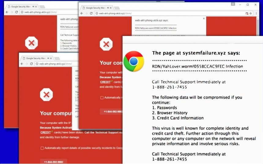 Delete RDN/YahLover.worm!055BCCAC9FEC Virus from System