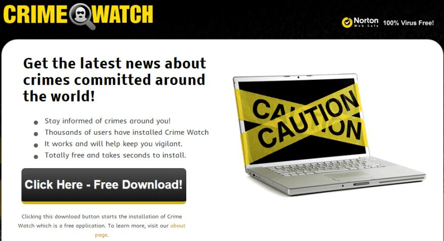 How To Uninstall Ads by Crime Watch From System In Simple Clicks