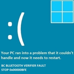 How to Troubleshoot BC_BLUETOOTH_VERIFIER_FAULT BSOD Error