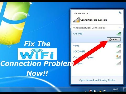 Fix & Repair The Wi-Fi Connectivity Dropping Issues In Windows 8