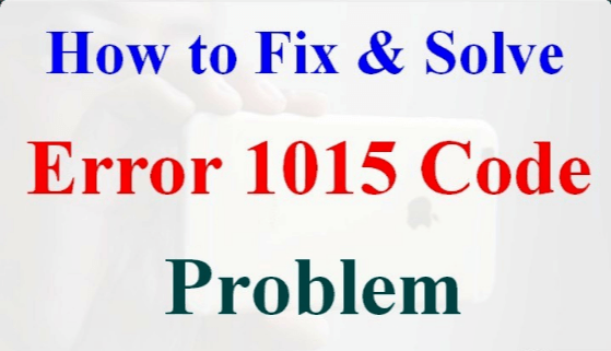 Effectively Remove Unauthorized Modification iPhone 3G Error 1015