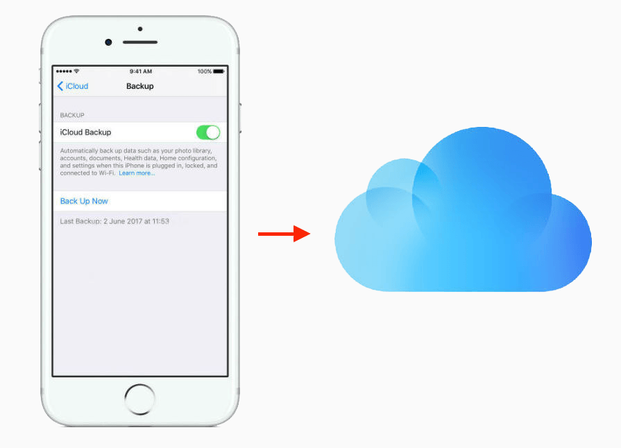 recover data in iPhone from iCloud