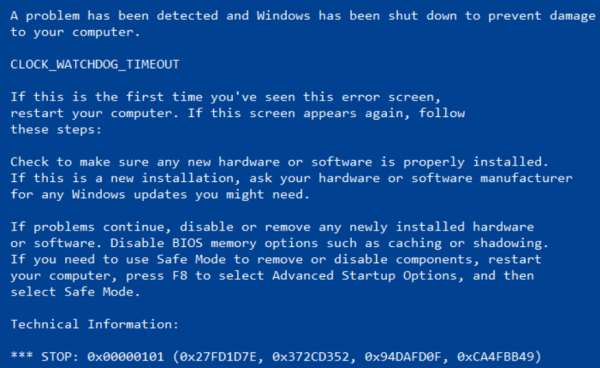 Learn to Fix TTM_WATCHDOG_TIMEOUT BSOD Error Quickly
