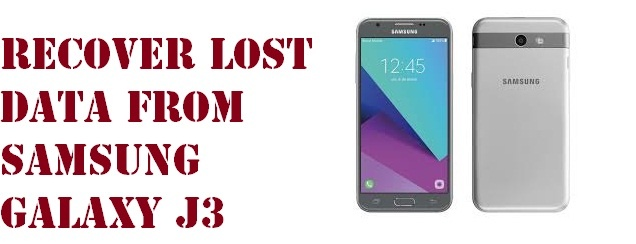 recover lost data from Samsung Galaxy J3