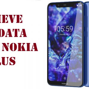 retrieve lost data from Nokia 5.1 Plus