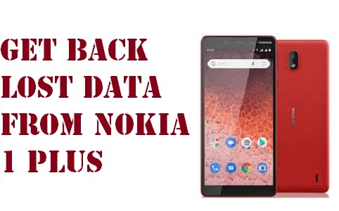 get back lost data from Nokia 1 Plus