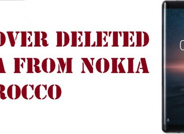 recover deleted data from Nokia 8 Sirocco