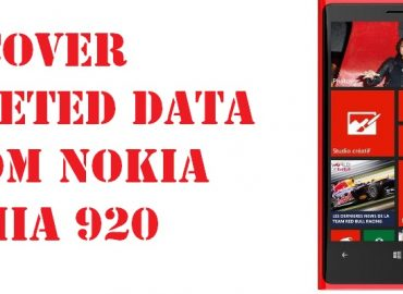 recover deleted data from Nokia Lumia 920