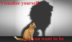 Visualize yourself