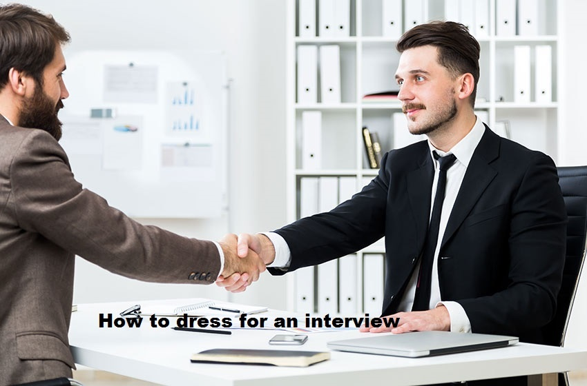 dressing for an interview