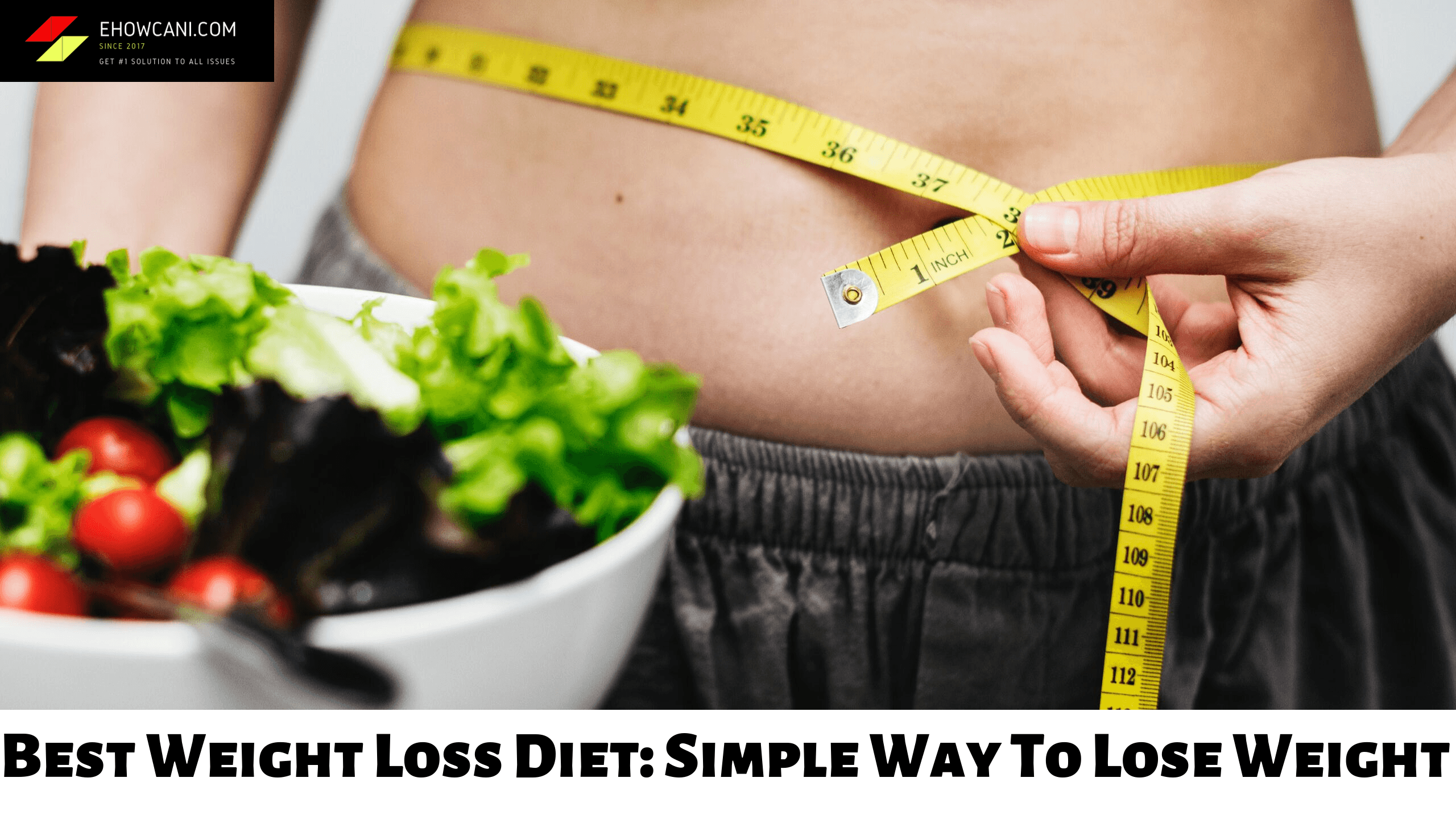 Best Weight Loss Diet